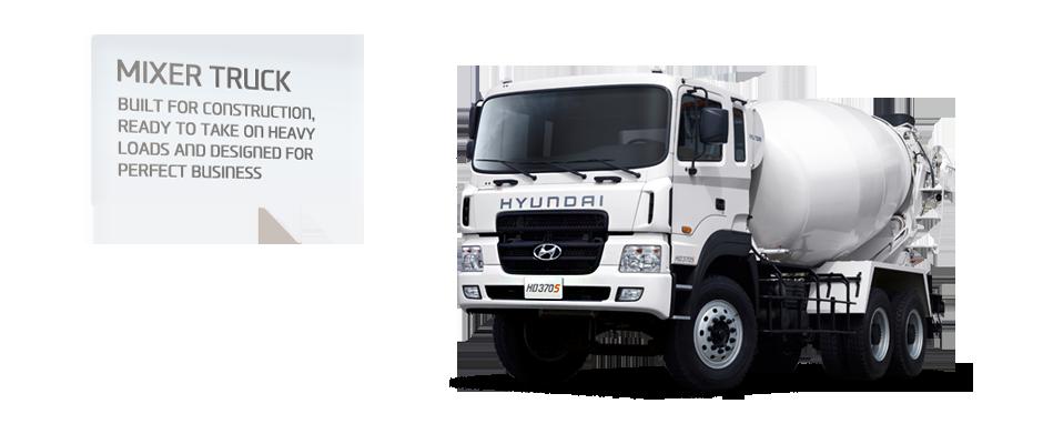 Hyundai HD 270 Mixer