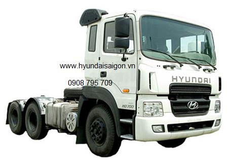 Xe đầu kéo HD700 hyundai và quy chuẩn 41:2016 BGTVT
