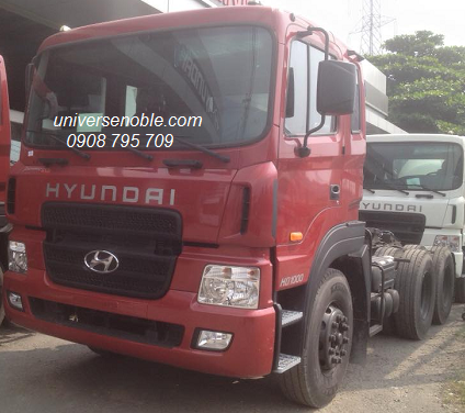 Xe đầu kéo hyundai HD1000 nhập khâu 2017