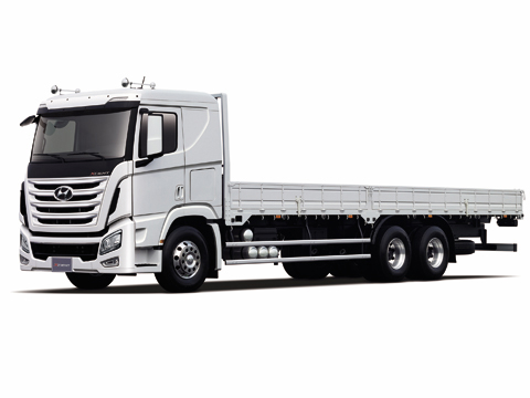Xe đầu kéo Hyundai HD700/HD1000 và hệ thống ERG tiêu chuẩn khí thải EURO4