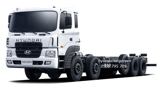 Xe tải 5 chân Hyundai và thông số kỹ thuật