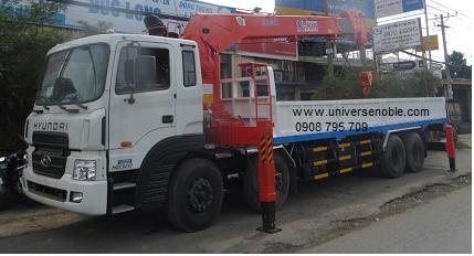 Xe tải cẩu Unic soosan kanglim từ 3 tấn đến 14...
