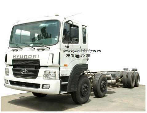 Xe tải hyundai 4 chân HD320 và chương trình sửa chửa xe theo yêu cầu