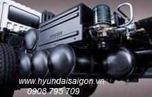 Xe Tải hyundai 4 chân máy điện HD320 công suất 380ps