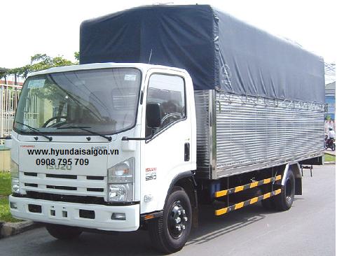 Xe tải Isuzu 5 tấn thùng dài 6m2 NQR75M